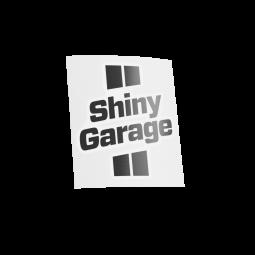 Shiny Garage Black Sticker