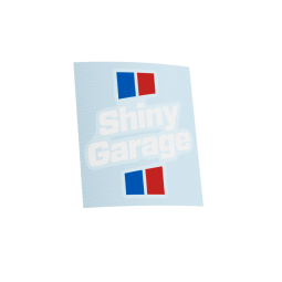 Shiny Garage Full Colour Sticker