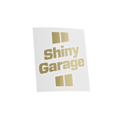 Shiny Garage Gold Sticker